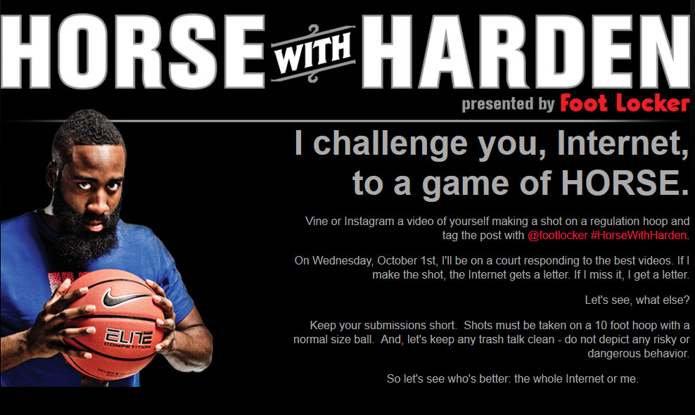ce451f10e5eb james harden and foot locker take on the internet in a game of h o r s e