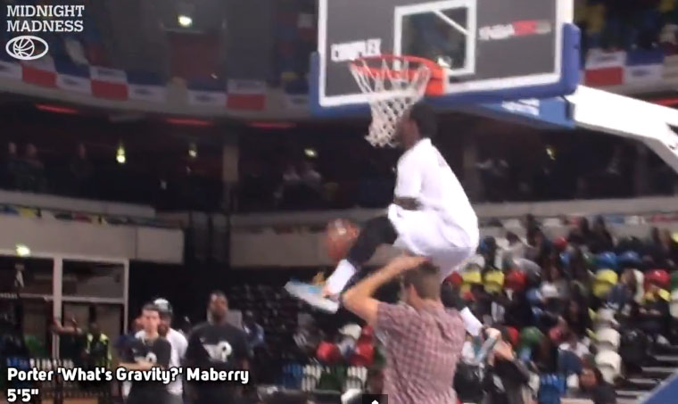 The Lipek Takeover continues: Lipinski wins Midnight Madness Dunk Contest in UK