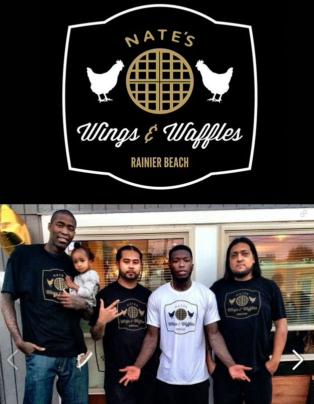Nate Robinson opens up a Chicken & Waffles restaurant