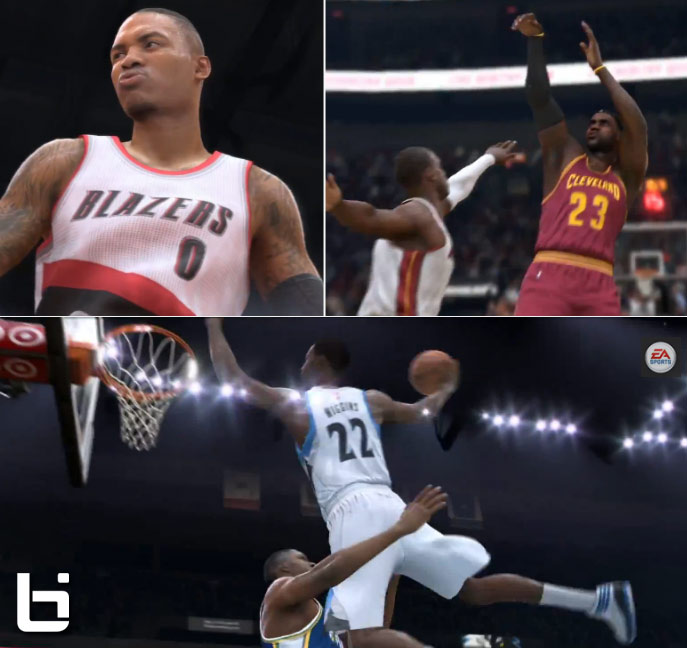 Feedback on the New NBA Live 15 Visuals Trailer