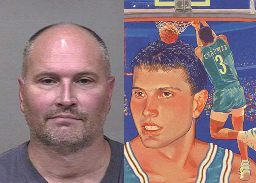 Rex Chapman arrested for allegedly stealing $14k worth of Apple products
