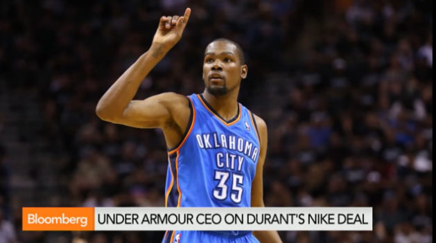 Under Armour CEO talks about Kevin Durant offer