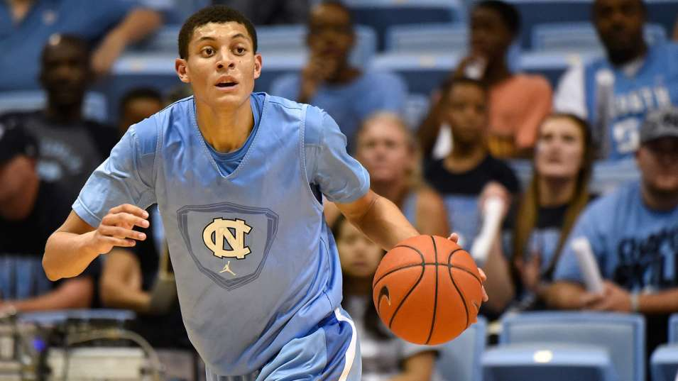 Justin Jackson scores game winner & game high 17 points in UNC scrimmage