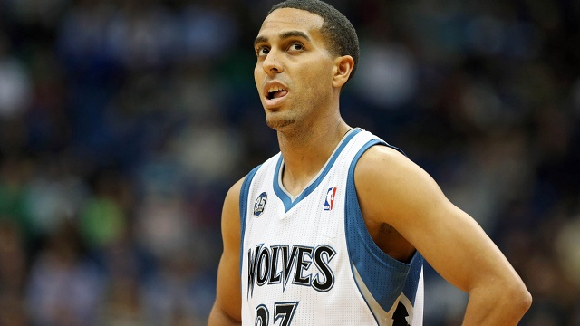 """Kevin Martin """"I didn't know Kevin Love got traded until yesterday""""  (he was joking)"""