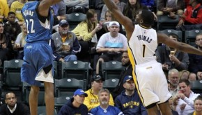 NBA: Preseason-Minnesota Timberwolves at Indiana Pacers