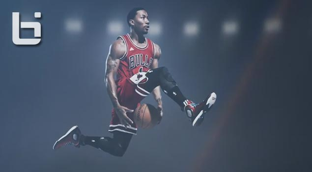 DRose Dunks Through The Legs In New Shoe Ad