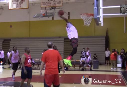 Highlights from Chris Chambers' CATCH 84 Charity Game feat Werm