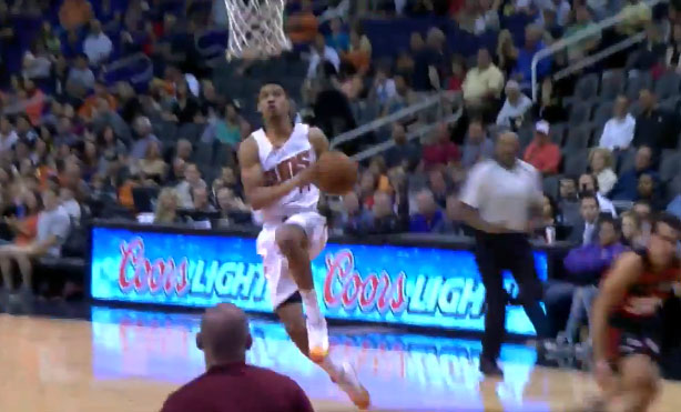 Gerald Green with the steal & breakaway dunk vs the Flamengos