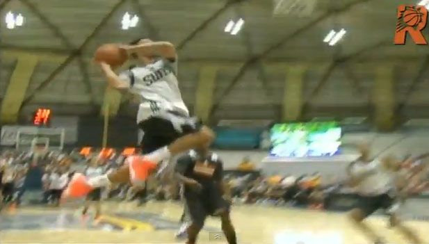Gerald Green sick dunk during Suns scrimmage