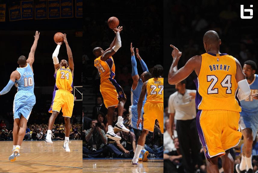 Kobe airballs first shot & then responds with a vintage fadeaway | Full highlights + postgame interview