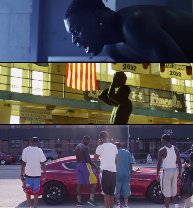 """Lance Stephenson training hard in the short film """"In The Paint"""""""