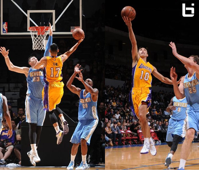 Return of Steve Nash (11pts) & Lakers debut of Jeremy Lin (10asts) | Full Highlights vs Nuggets