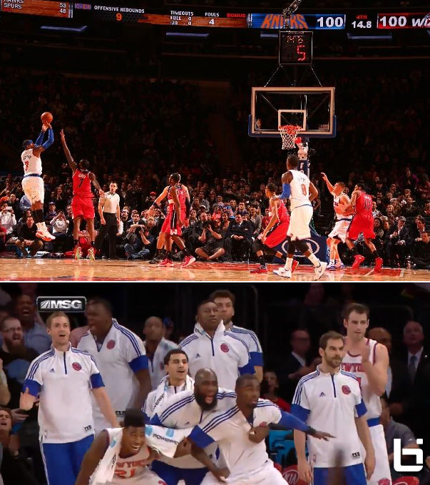 Carmelo Anthony scores 30, game winner vs Wall & the Wizards