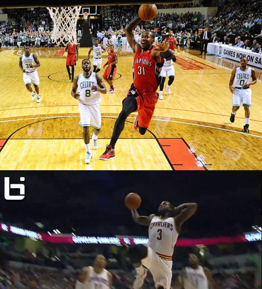 Better Breakaway Dunk: Dion Waiters Baby Mailman dunk -or ...