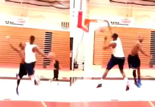 Vine of the Day: Windmill poster dunk