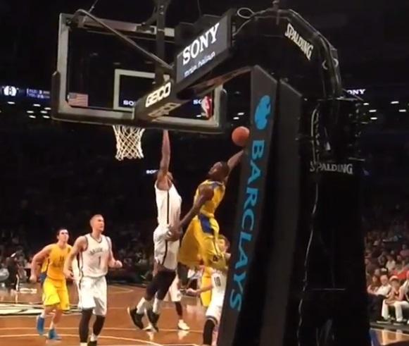 The International Poster Maker Jeremy Pargo is back with a nasty dunk against the Nets