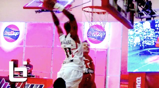 Ballup Takes on Chicago | Air Up There Dunks on Defender