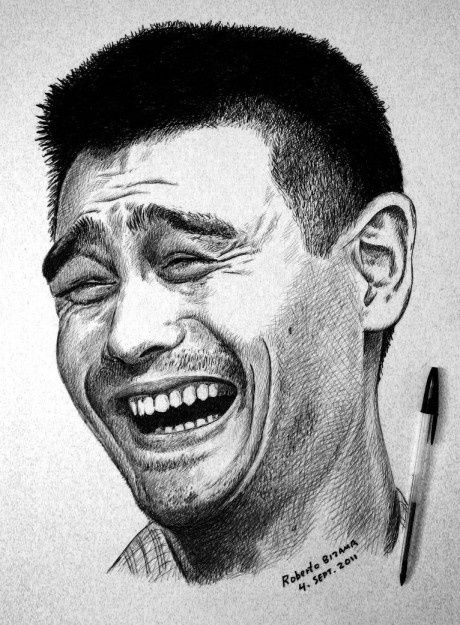 yao-ming-drawn-with-a-pen-funny-picture-18907