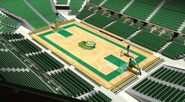 Ballislife | Seattle Sonics New Arena