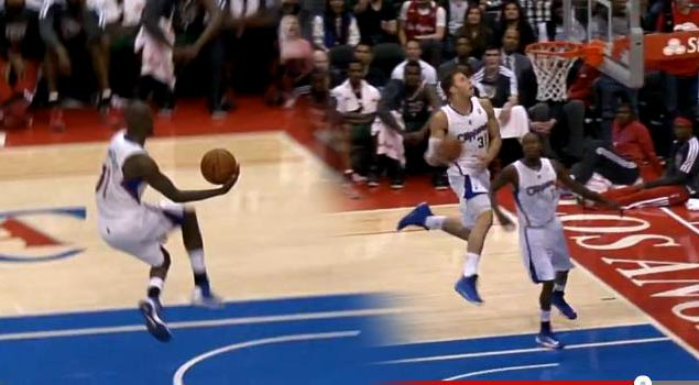 Ballislife | Jamal Crawford OOP to Blake Griffin