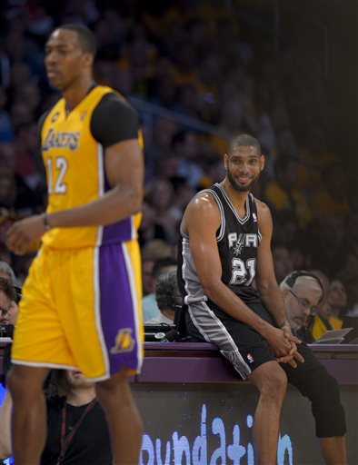 Tim Duncan, Dwight Howard