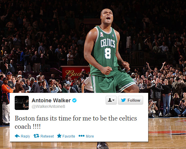 Antoine Walker Tweets Boston Fans Its Time For Me To Be The Celtics Coach Talks About Coaching Ballislife Com