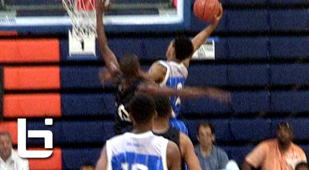 Ballislife | Tyler Dorsey Dunks on Defender at Fab48