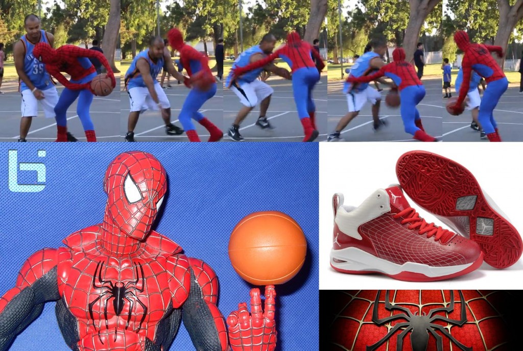 Ballislife | Spiderman Basketball