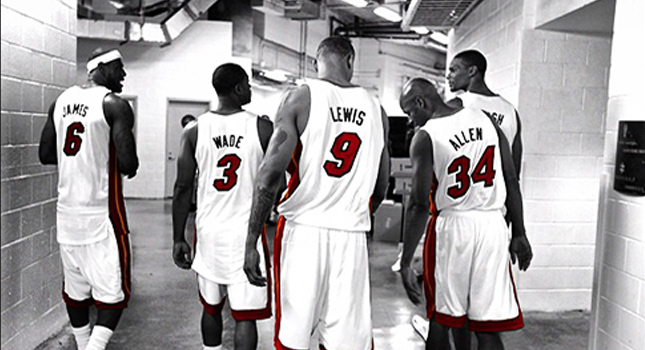 NBA Considering nicknames on the back of Heat and Nets ...