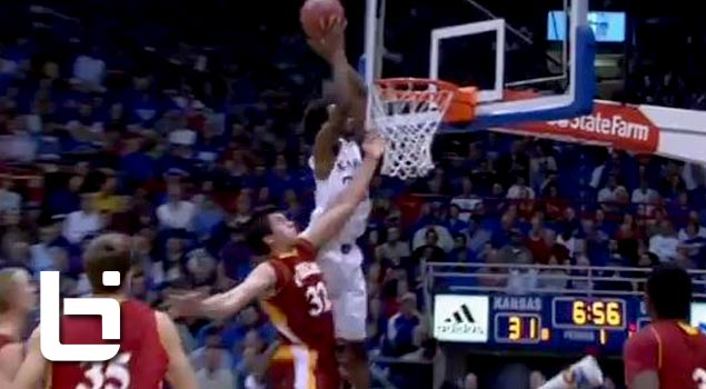 Ballislife | Wiggins First Kansas Dunk