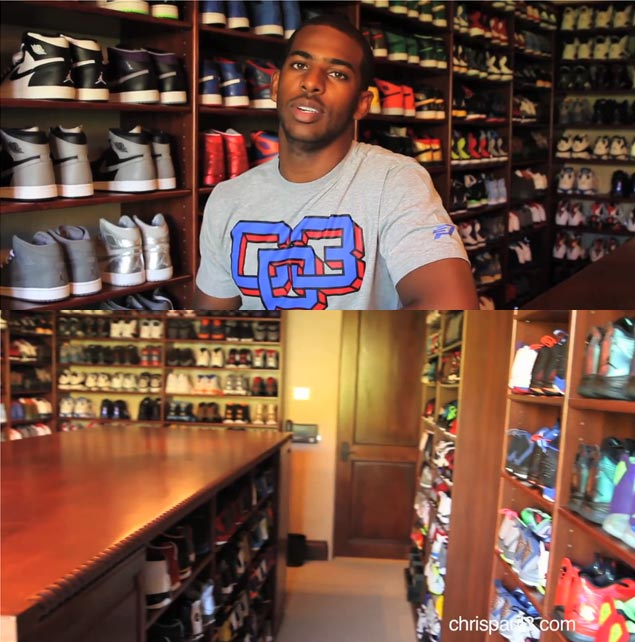 Chris Paul shows off his \