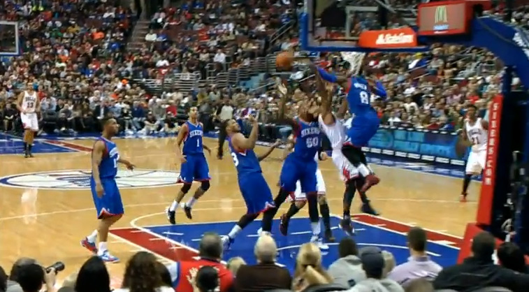 Ballislife | Tony Wroten blocks Derrick Rose