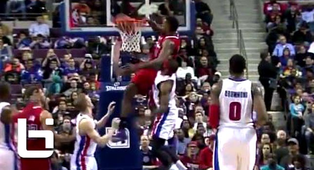 Ballislife | DeAndre Jordan Head Over Rim