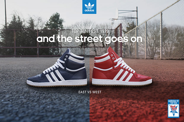 adidas originals east vs west