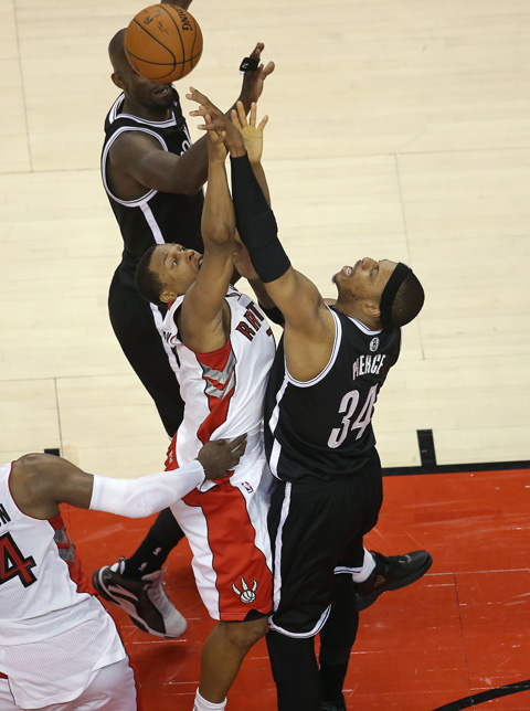 NBA: Playoffs-Brooklyn Nets at Toronto Raptors