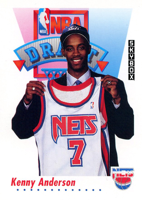 kenny anderson jersey draft